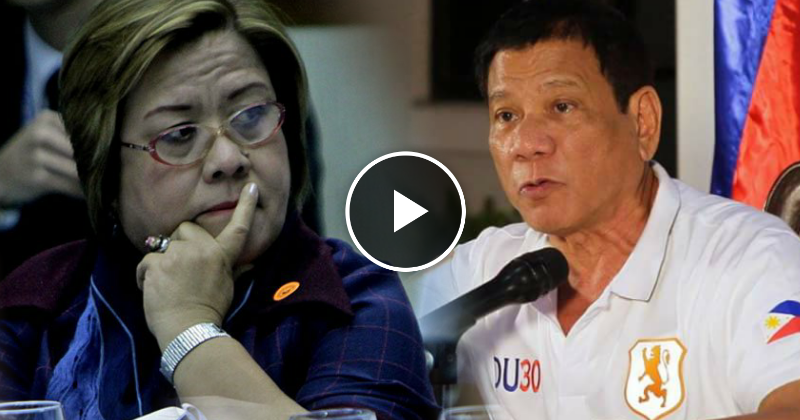 Duterte to De Lima: Hang yourself and resign