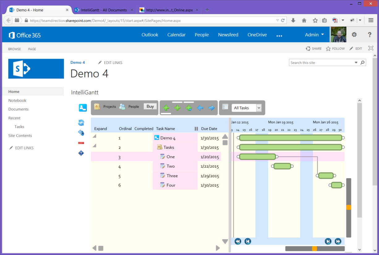 Make Online Calendar And Task Task Management Software Online Task Management Tool Intelligantt Initial Gantt Chart Timescale Vertical Row