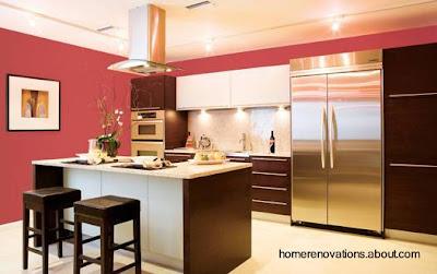 Cuarto moderno de cocina