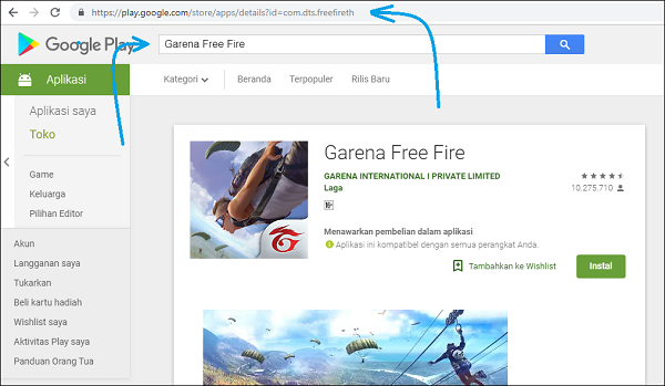 Cara Download Aplikasi Google Playstore di PC/Laptop