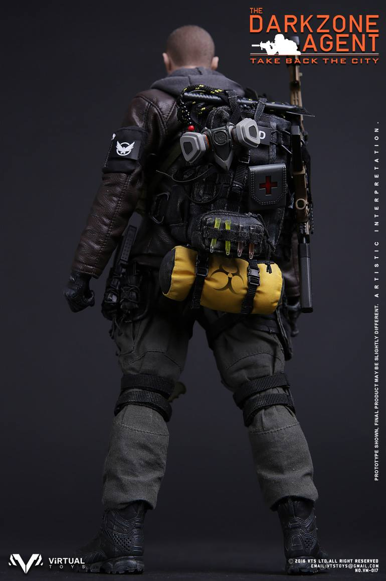 VTS Virtual Toys VM017 The Darkzone Agent Tom Clancy/'s The Division 1//6 Weapon
