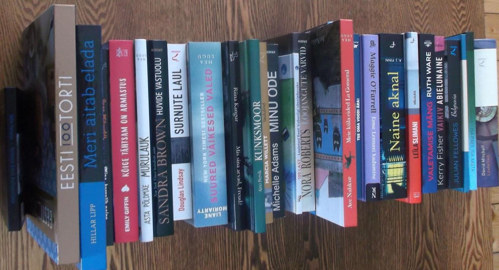 8316f1f7c22 Uued raamatud ootavad raamatukogus lugejaid. Tutvu raamatutega SIIN (vali  vasakult menüüst Uudiskirjandus)