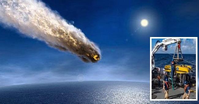 Τι πραγματικά ηταν το τεράστιο αντικείμενο που έπεσε στον ωκεανό και πήγε να το βρει η NASA;