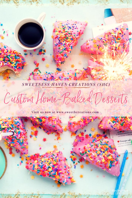 SHC Custom Home Baked Desserts