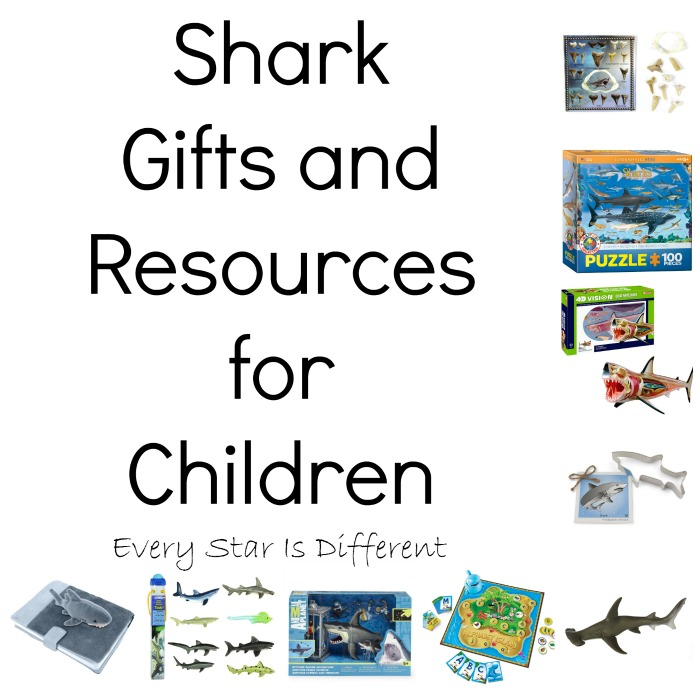 Shark Gifts and Resources for Kids