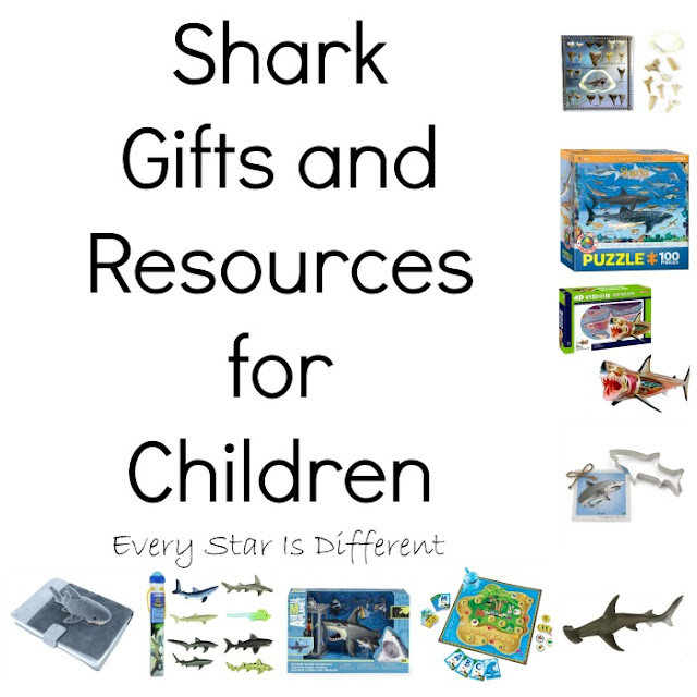 Shark gifts and resources for children