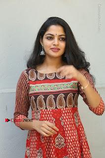 Telugu Actress Nikhila Vimal Latest Stills in Anarkali Dress  0045.JPG