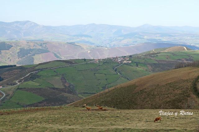 Vistas desde la ermita del Acebo, Cangas del Narcea