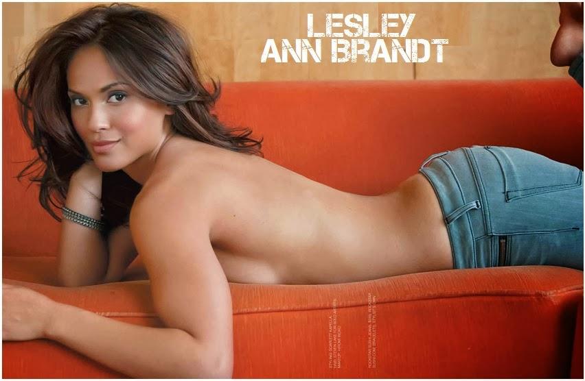 Lesley-ann brandt topless