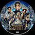 Black Panther DVD Label