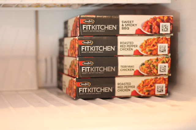 STOUFFER'S ® FIT KITCHEN™ Teriyaki Chicken, STOUFFER'S® FIT KITCHEN™ Sweet and Smoky BBQ Beef and STOUFFER'S® FIT KITCHEN™ Roasted Red Pepper Chicken