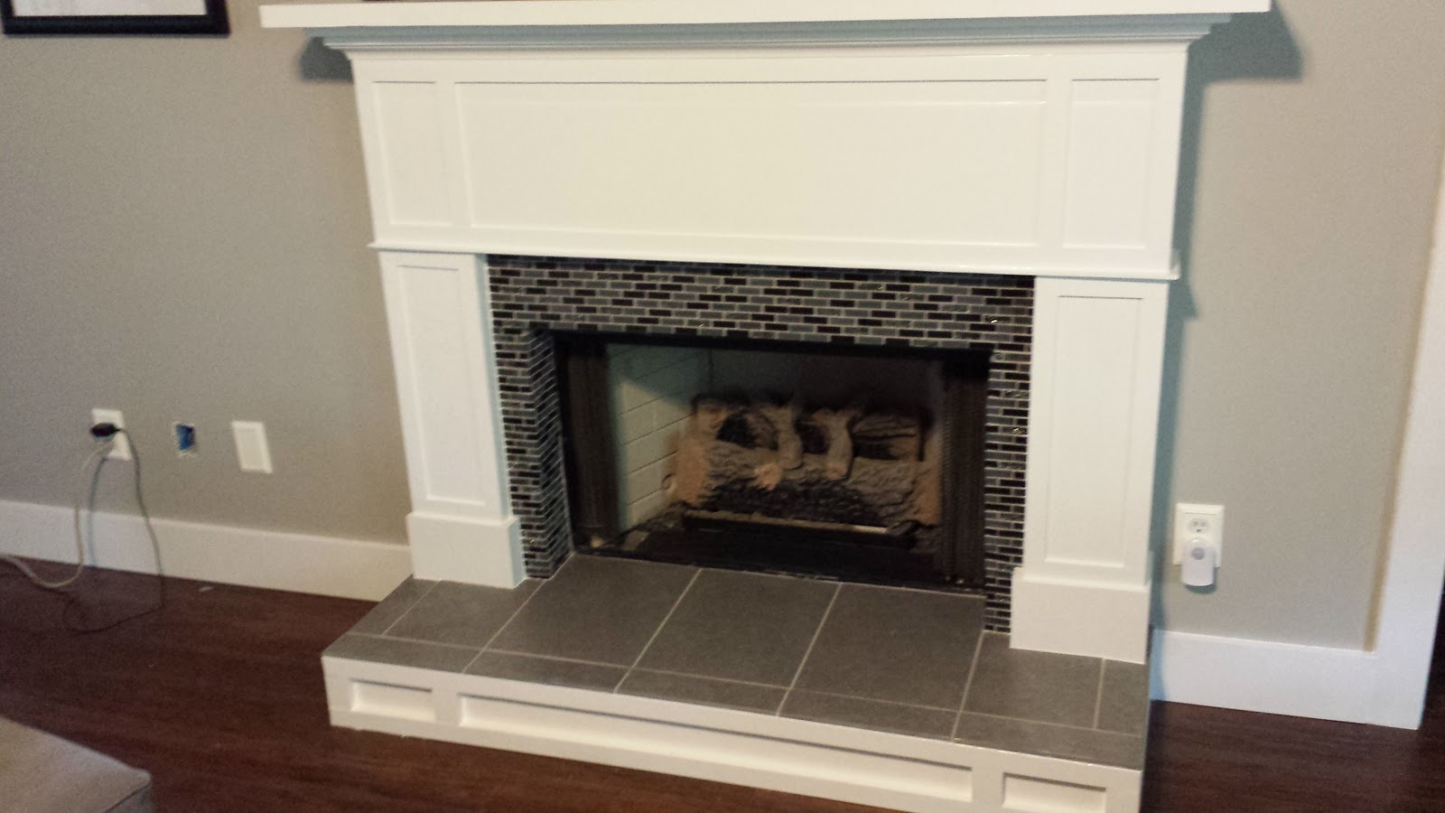 Deck our home fireplace tutorial 1 hearth tile prep fireplace tutorial 1 hearth tile prep tyukafo