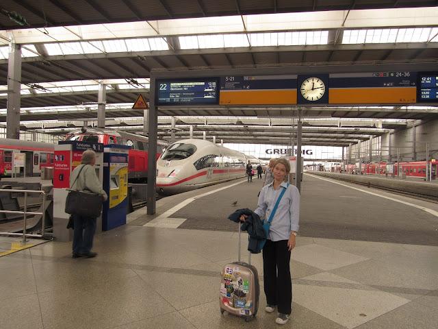 Trem Munique Alemanha