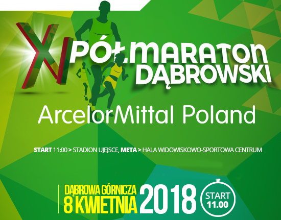 XI Półmaraton Dąbrowski - Dąbrowa Górnicza 8 kwietnia