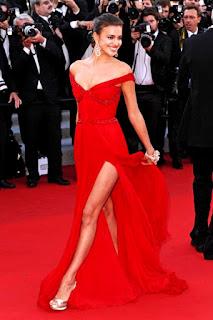 Irina Shayk On Red Carpet