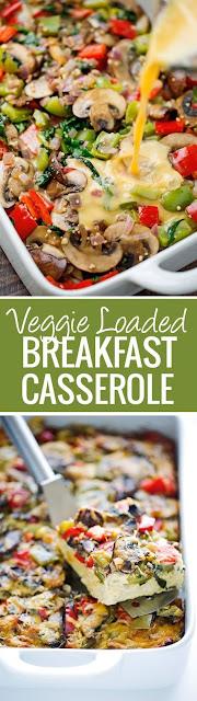 Vegie Loaded Breakfast Casserole
