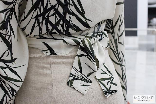 ZARA kimono blouse Maikshine