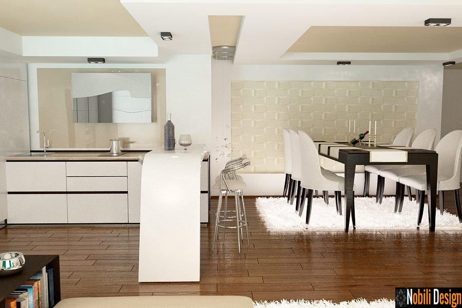 Design interior living casa stil modern Bucuresti - Amenajare interioara casa moderna in Bucuresti| Design interior - living - modern - apartament - Bucuresti.