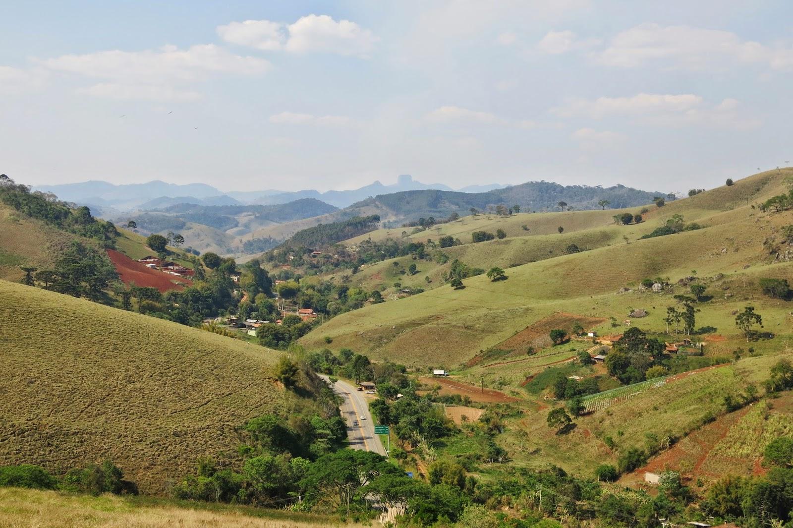 Estrada para Santo Antônio do Pinhal