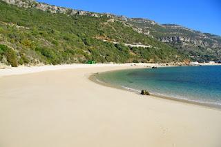 Playa Galapinhos Setúbal Lisboa