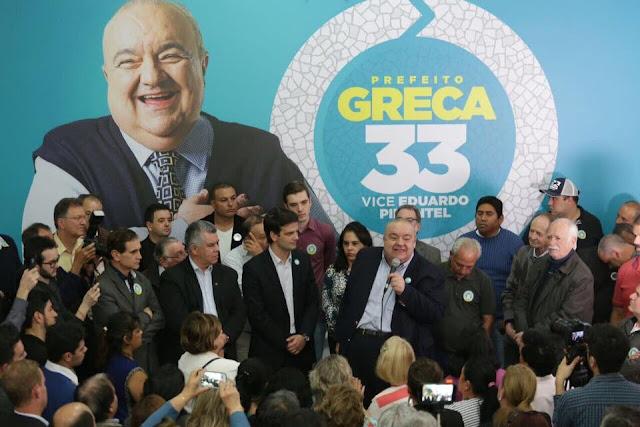 """Só se ouve """"Volta Greca 33"""" em Curitiba!!!"""