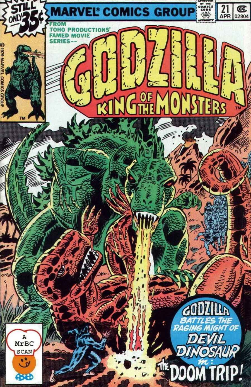 Godzilla (1977) Issue #21 #21 - English 1