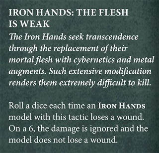 8th edition space marine chapter tactics iron hands