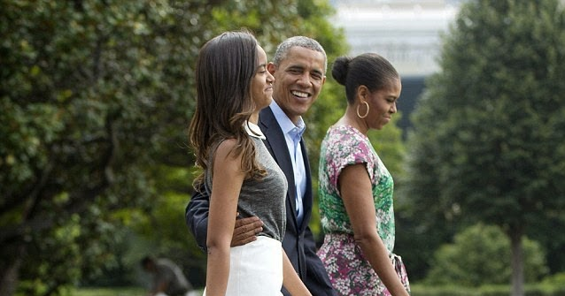White Cape Cod Style House 16-year-old Malia Obama Now As Tall As President Obama
