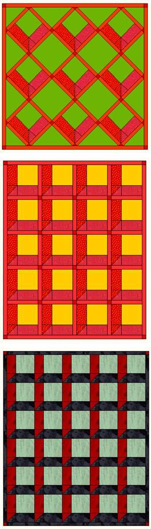 Free Attic Windows Quilt Pattern : attic, windows, quilt, pattern, Quilt, Inspiration:, Pattern, Attic, Windows, Quilts