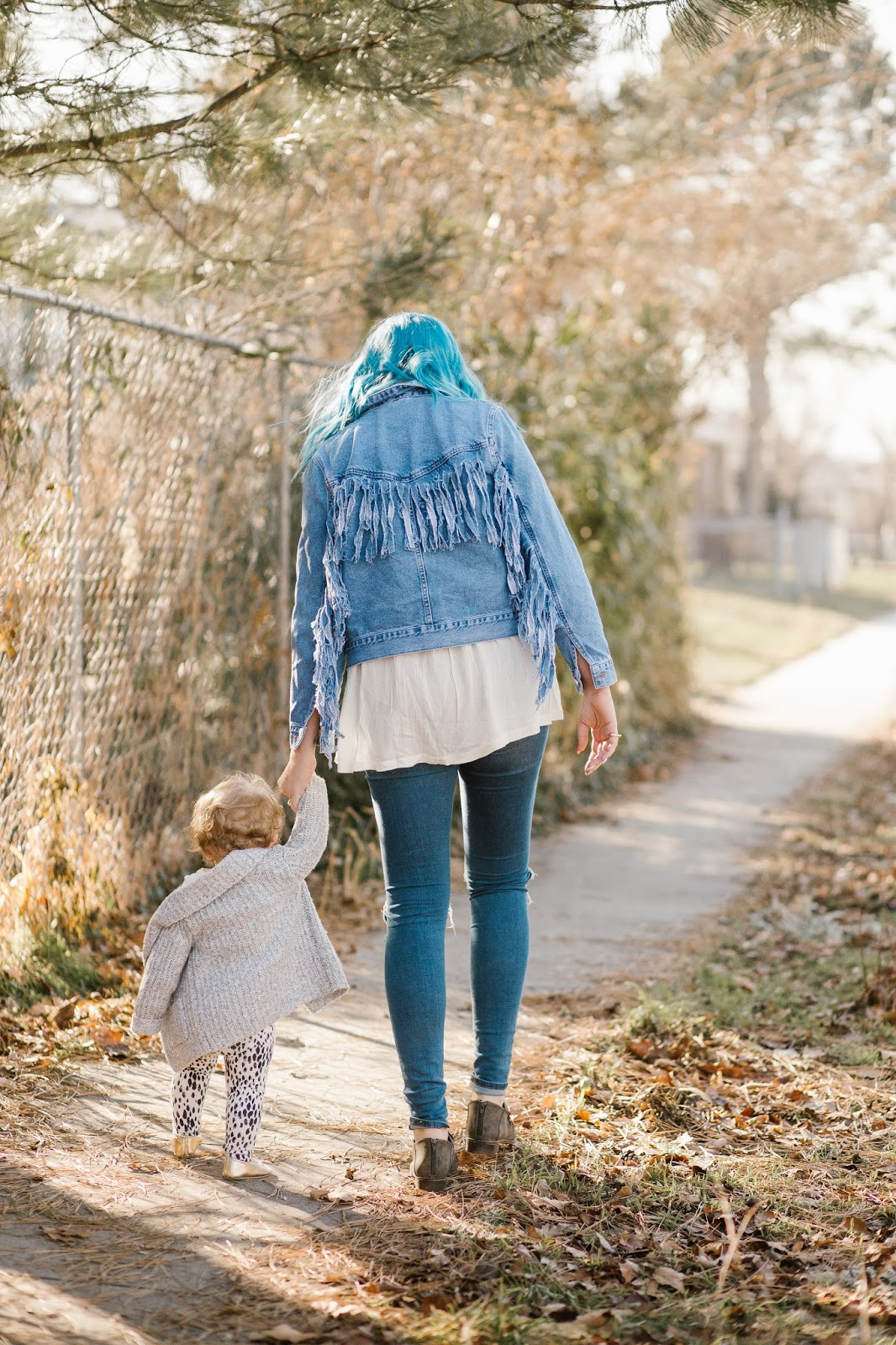 Fringe, Jean Jacket, Mommy and Me