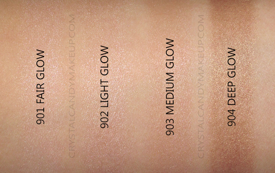 L'Oreal True Match Lumi Glotion 901 902 903 904 Swatches