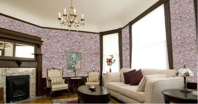 Sơn tường tơ lụa có thể sử dụng trên gỗ, nhôm, kính