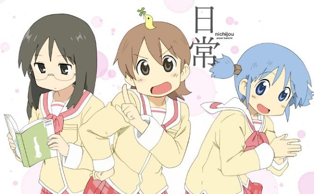 Top Best School Comedy Anime List - Nichijou - My Ordinary Life