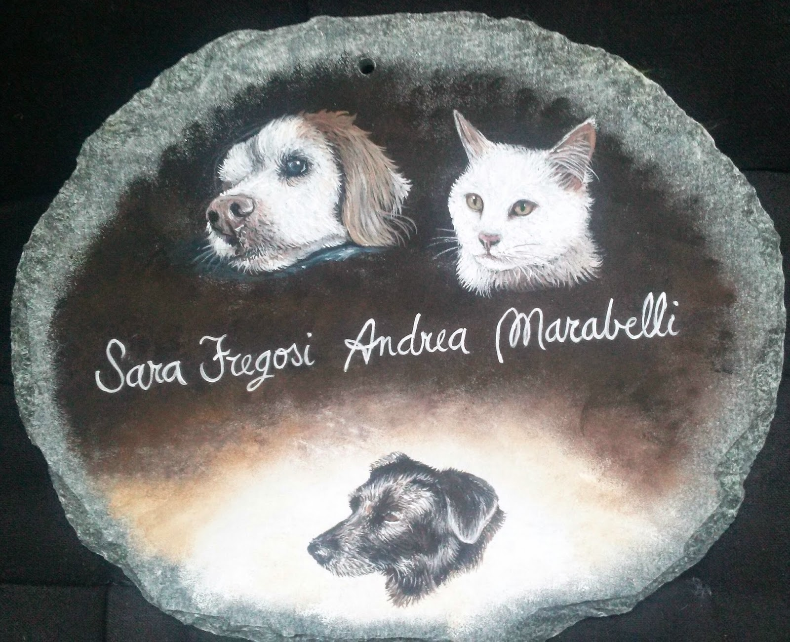 Animali Da Esterno decorarte: targhe da esterno con animali domestici