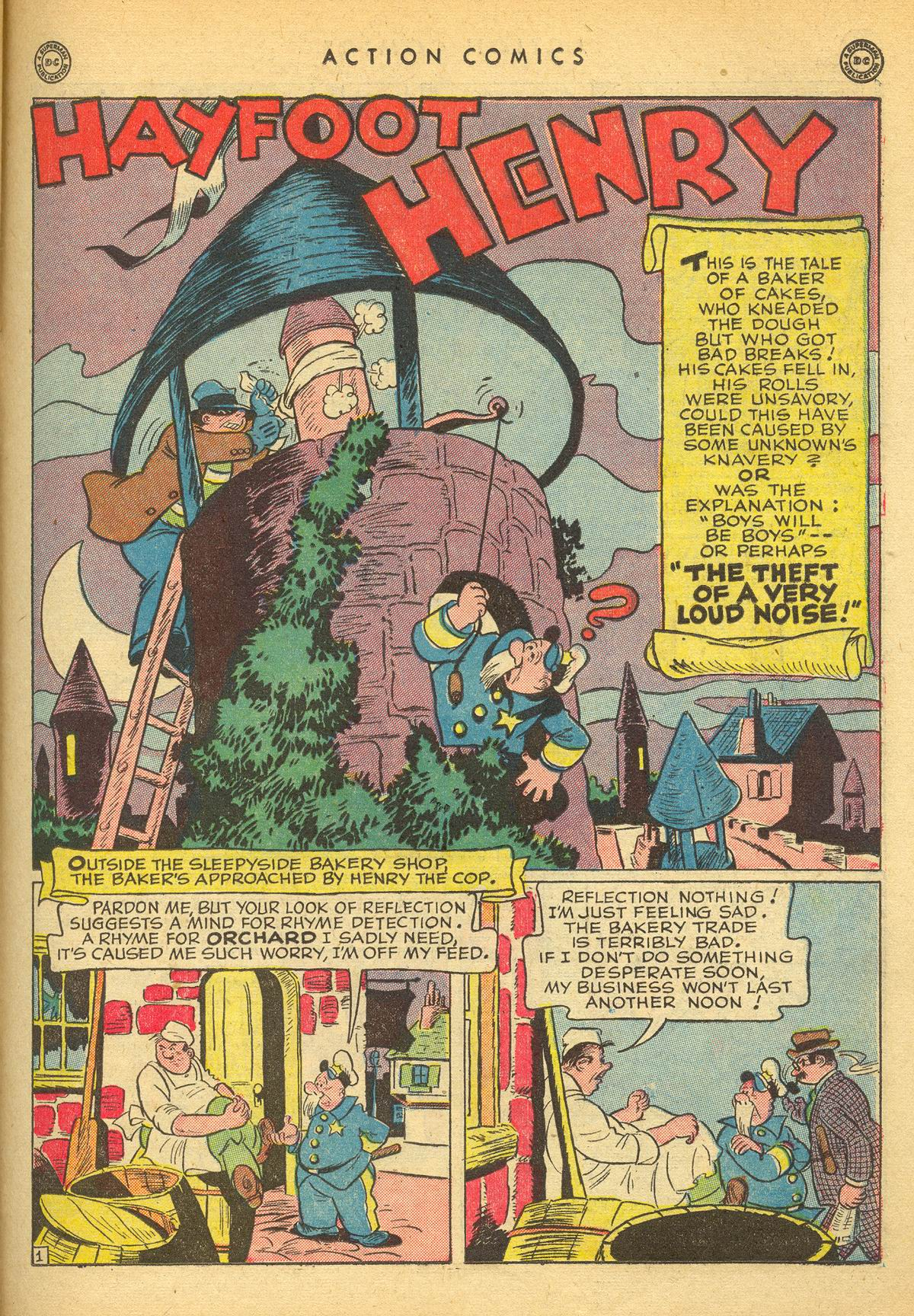 Read online Action Comics (1938) comic -  Issue #109 - 33