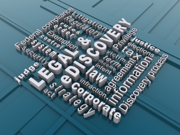 Legal & eDiscovery universe words are nested and forming a net - SYSTRAN about eDiscovery