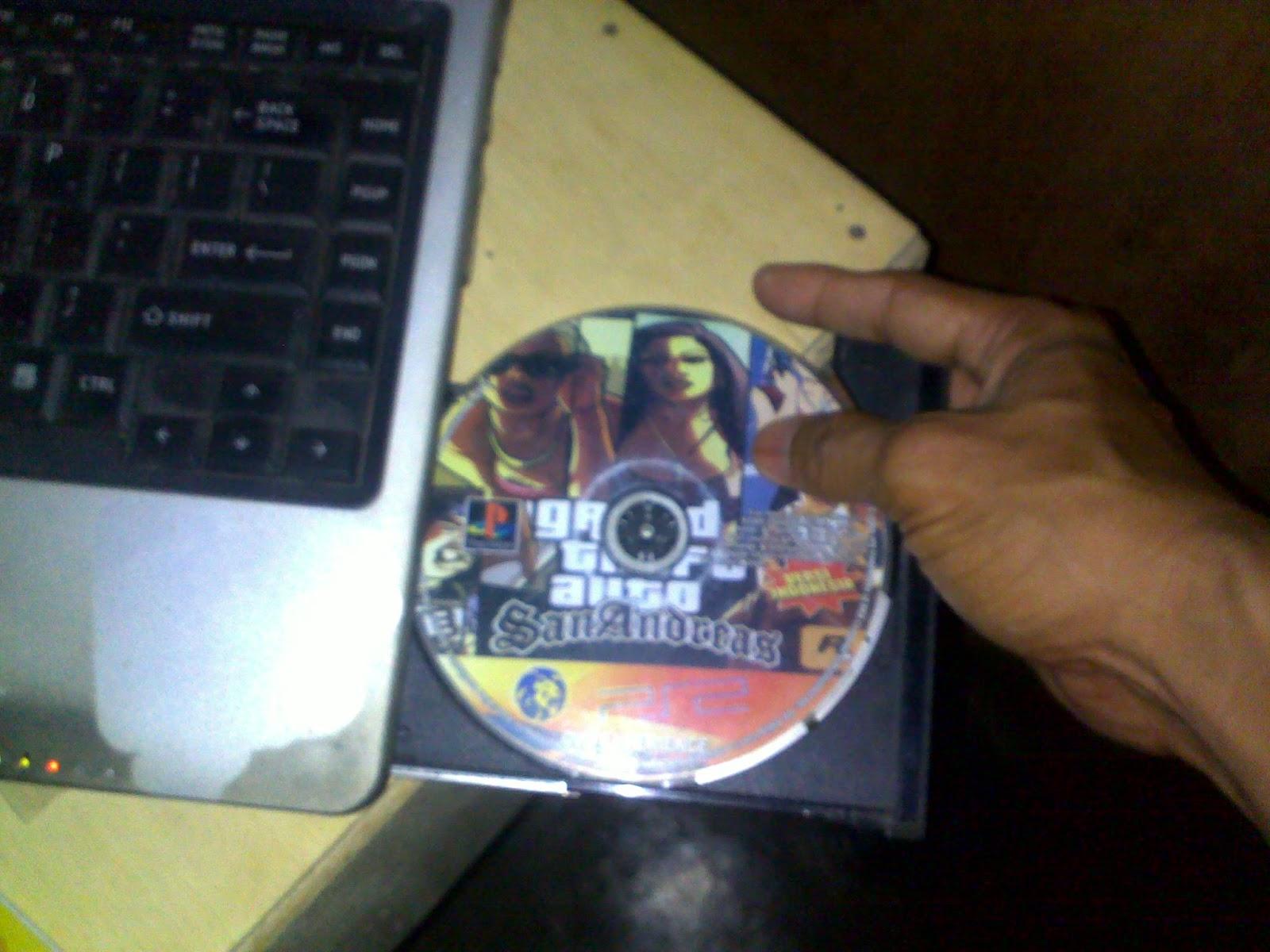 Cara Copy Game PS2 dari DVD game ke FlashDisk dan Harddisk