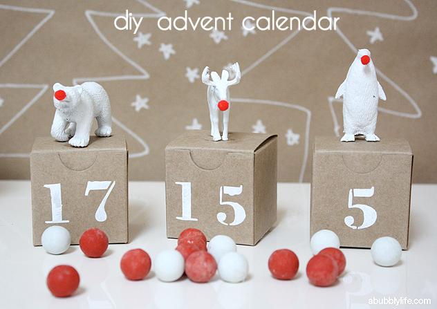 DIY Advent Calendar Craft