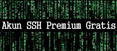 situs membuat akun ssh premium, ssh premium gratis