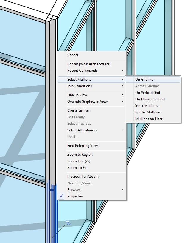 Revit Tutorial The Quad Corner Mullion Tutorials Tips Products And