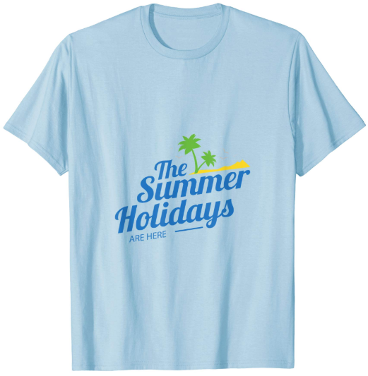 New summer Holdiadys Tshirt
