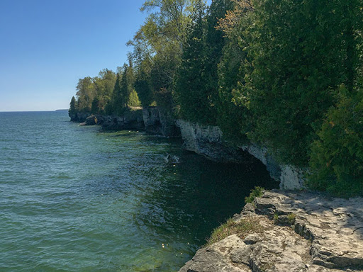 Cave Point County Park in Door County WI