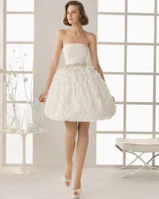 Vestidos de novia cortos Rosa Clara