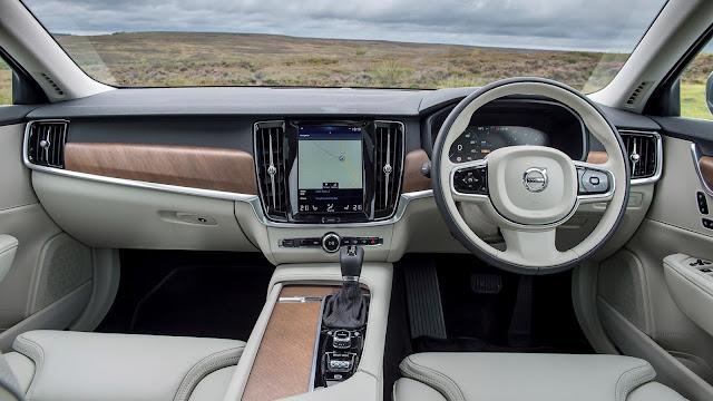 Volvo S90 D5 PowerPulse AWD Inscription (2016) review