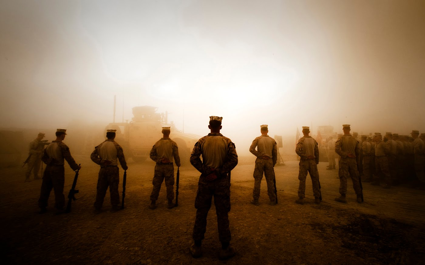 Midwest Marines The Marine Corps 14 Leadership Traits Bearing