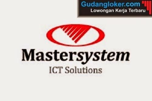 Lowongan Kerja PT Mastersystem Infotama