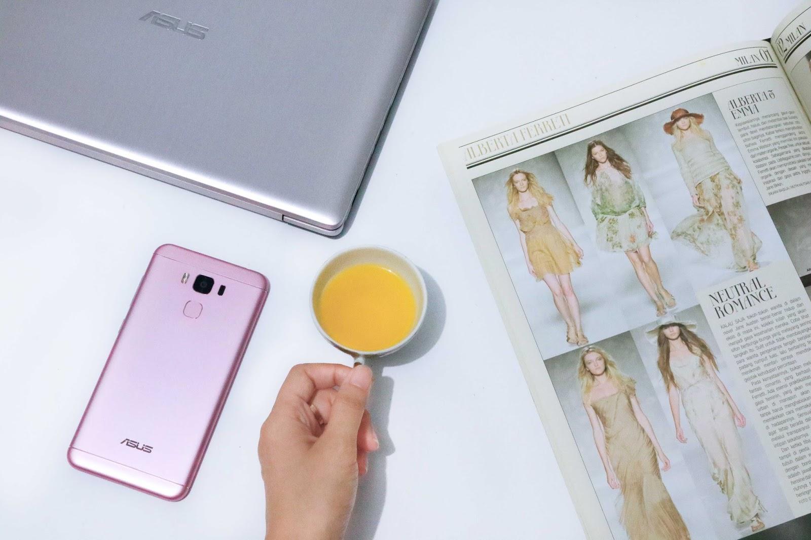 ASUS Zenfone 3 Max ZC553KL Semakin Fashionable Dengan
