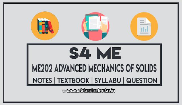 ktu ME202 Advanced Mechanics of Solids