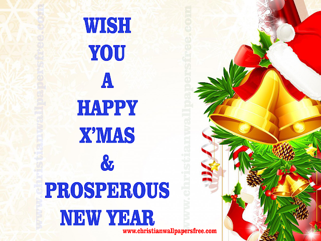 Christmas New Year Greetings Card