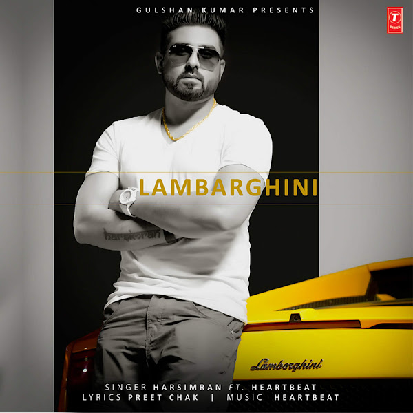 Harsimran - Lambarghini (feat. Heartbeat) - Single Cover